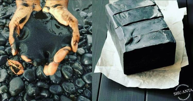 savon roche volcanique