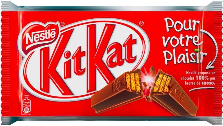 Kit Kat 4F Single Front