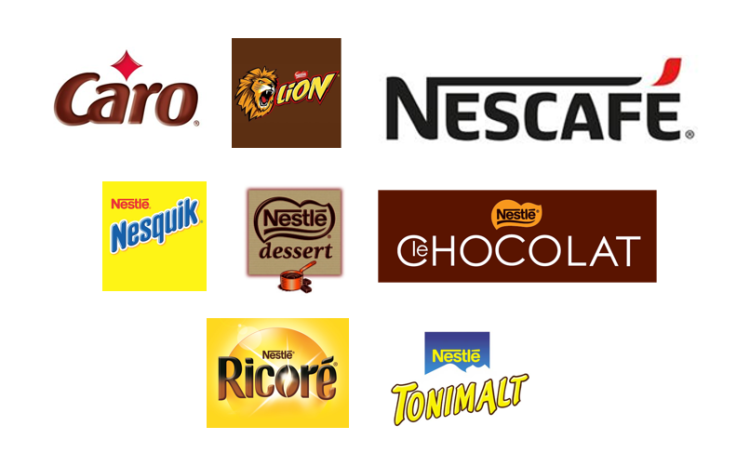 NESTLE MARQUES