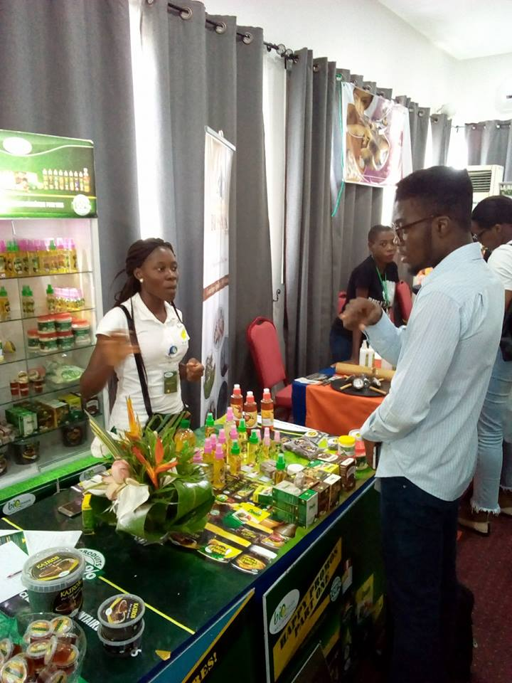 expostion produits de beauté cameroun