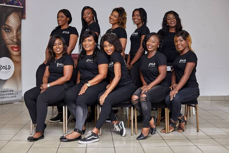 bold make up academy douala
