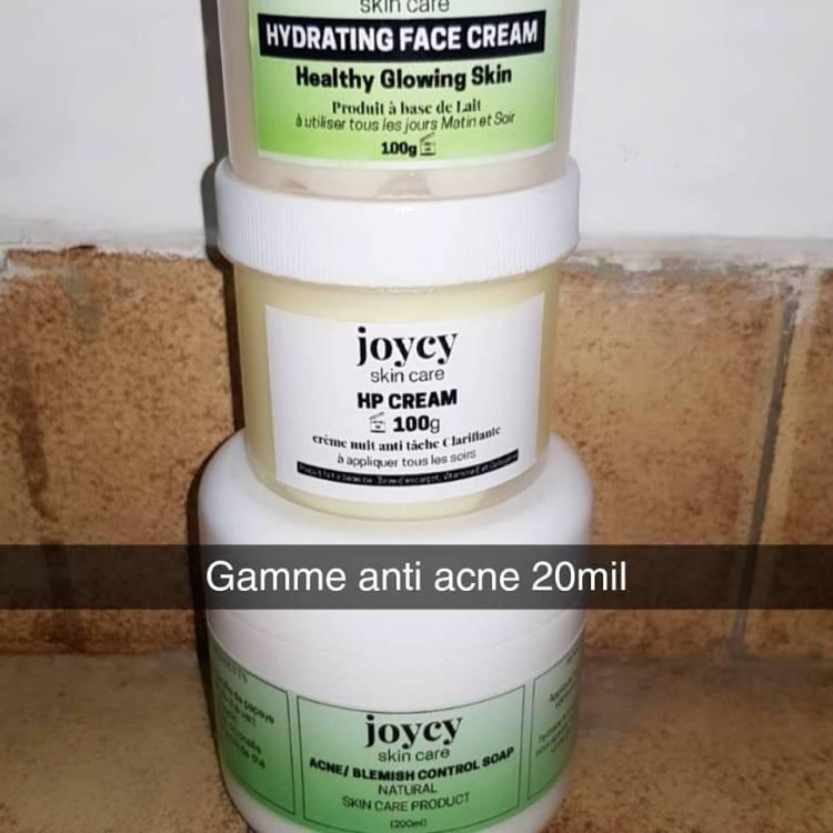crème visage gommage cameroun