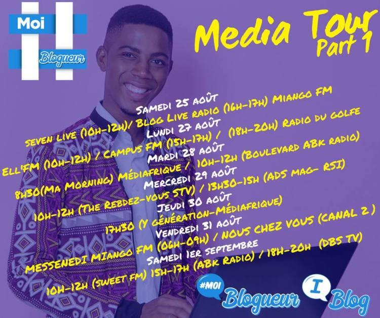 media tour programme