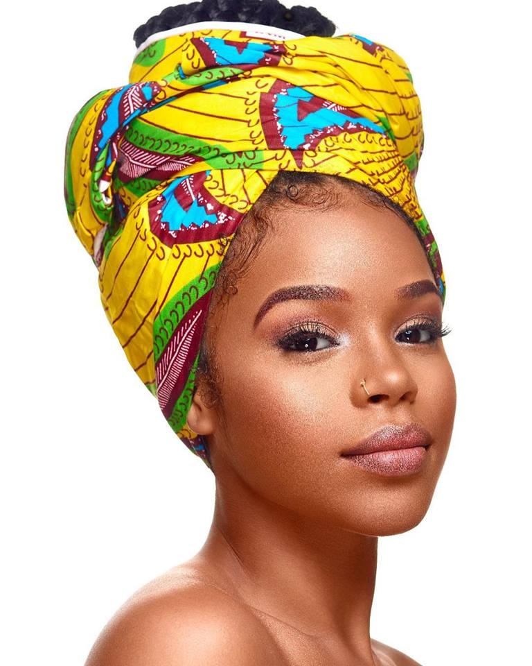 nabila foulard africaine