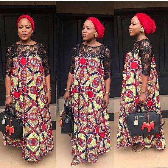 pregnant wax dress african