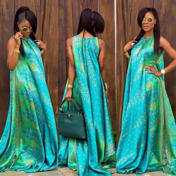 robe pagne femme enceinte