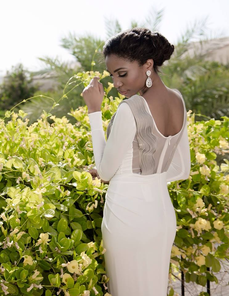 valerie ayena dress white